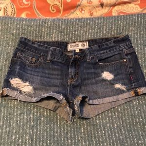 PINK by VS jeans shorts-4